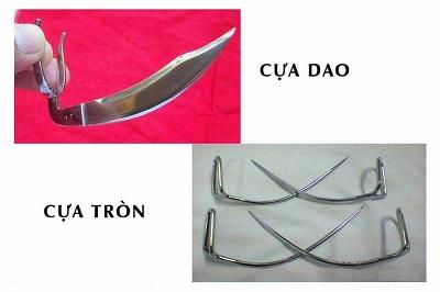 Cựa dao và cựa tròn